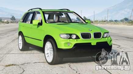 BMW X5 4.8is (E53) 2005〡add-on v1.1 для GTA 5