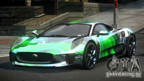 Jaguar C-X75 SP-U S7 для GTA 4