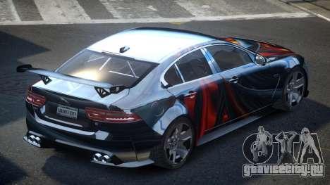 Jaguar XE GST S3 для GTA 4