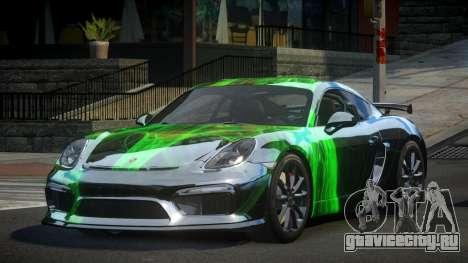 Porsche 718 Cayman GT4 S7 для GTA 4