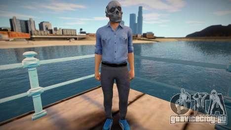 Skull man from GTA Online для GTA San Andreas