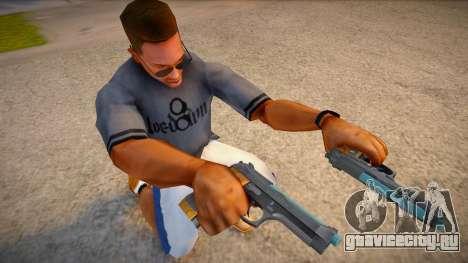 RE2: Remake - Samurai Edge Colt v4 для GTA San Andreas