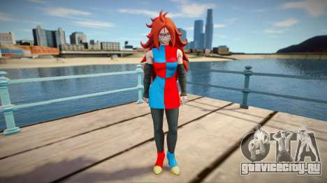 Android 21 from Dragon Ball FighterZ для GTA San Andreas
