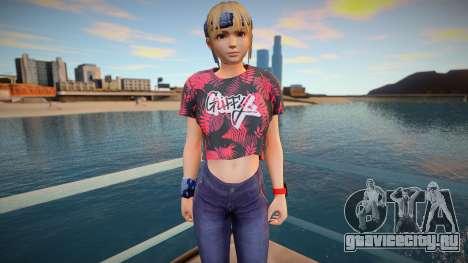 DOA Marie Rose Fashion Casual V1 для GTA San Andreas