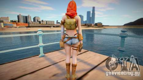 Scarlet from Special Force 2 для GTA San Andreas