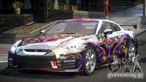 Nissan GT-R GS-S S8 для GTA 4