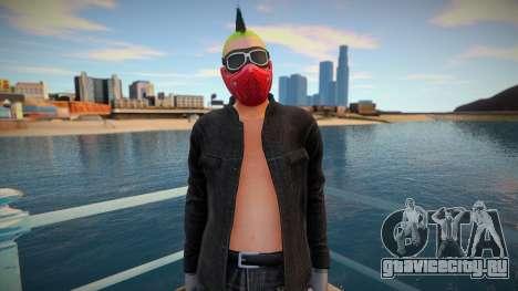 Biker 5 from GTA Online DLC: Bikers для GTA San Andreas