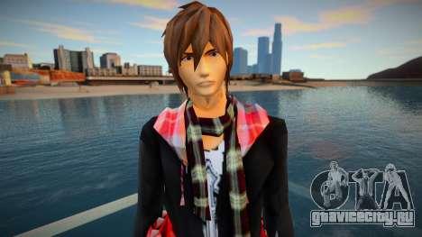 Kamen Rider Kiva Kurenai Wataru skin для GTA San Andreas