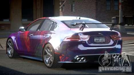 Jaguar XE GST S5 для GTA 4