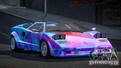 Lamborghini Countach GST-S S4 для GTA 4