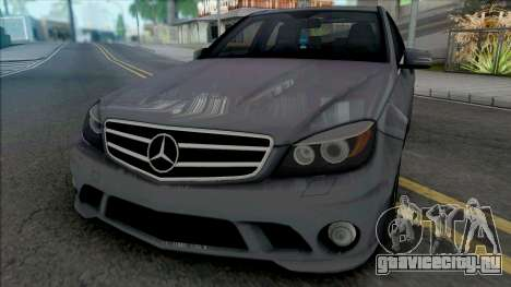 Mercedes-Benz C63 AMG (W204) 2010 [IVF VehFuncs] для GTA San Andreas