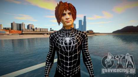 Spiderman 2007 (Black-Unmask) v1 для GTA San Andreas