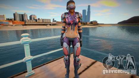 Maven from Ghost in The Shell для GTA San Andreas