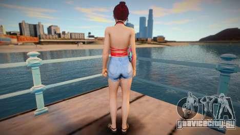 Kasumi v16 - Without Hand Bag для GTA San Andreas