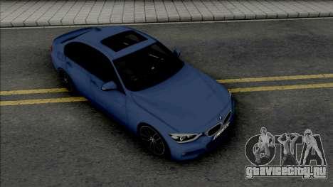BMW F30 335d M Sport 2016 для GTA San Andreas