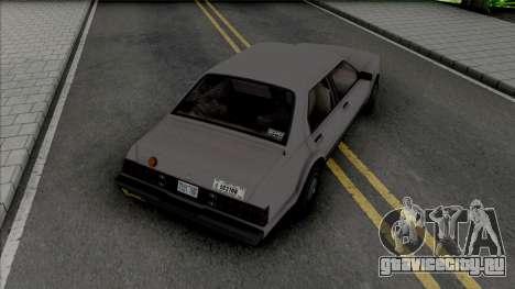 GTA IV Albany Esperanto (Roman Taxi) для GTA San Andreas
