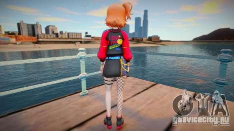 Chika Takami - Pioneering a New World для GTA San Andreas