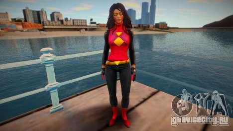 Spider-Woman (Jessica Drew) v2 для GTA San Andreas