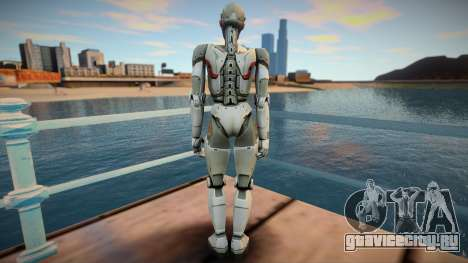 Sara From Shadowgun: Deadzone для GTA San Andreas
