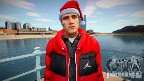 New Year Skin для GTA San Andreas