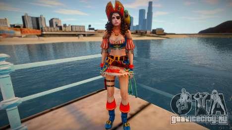 Jill Pirate для GTA San Andreas