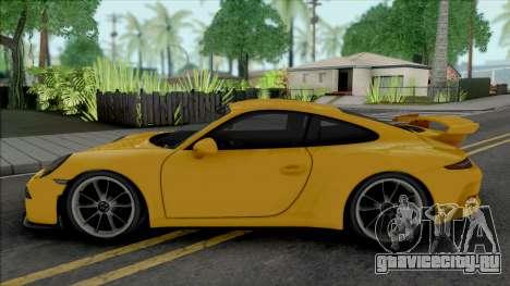 Porsche 911 (991) GT3 для GTA San Andreas