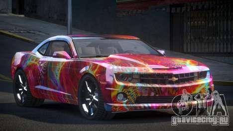 Chevrolet Camaro BS-U S2 для GTA 4