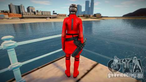Bertha Red Resident Evil Operation Raccoon City для GTA San Andreas