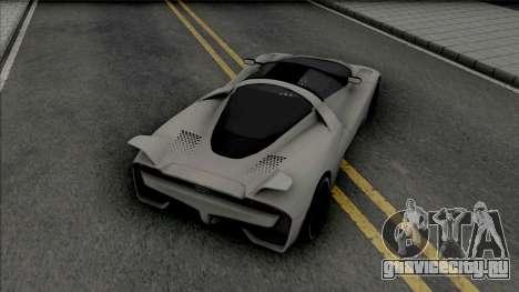 SSC Tuatara (SA Lights) для GTA San Andreas