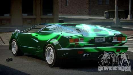Lamborghini Countach GST-S S5 для GTA 4