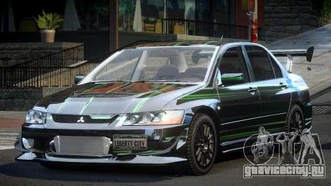 Mitsubishi Evo 8 U-Style S10 для GTA 4