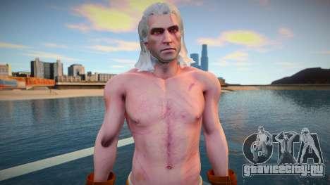 Geralt для GTA San Andreas