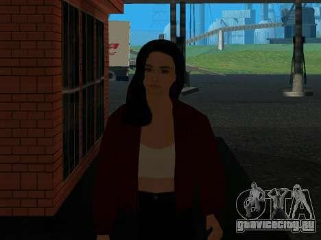 Симпатичная девочка Анна для GTA San Andreas