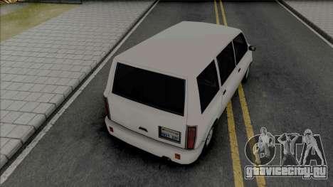 Moonbeam (Standard Van) для GTA San Andreas