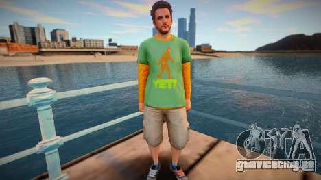 Скин из GTA V v7 для GTA San Andreas