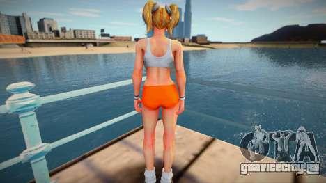 Juliet Starling Hooters from Lollipop Chainsaw для GTA San Andreas