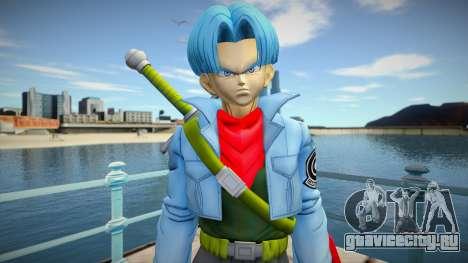 Trunks blue hair для GTA San Andreas