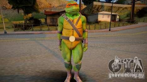 Ninja Turtles - Michaelangelo для GTA San Andreas