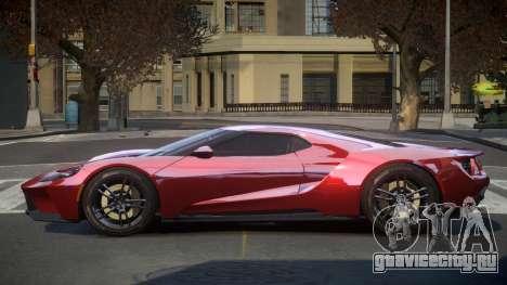 Ford GT GST для GTA 4