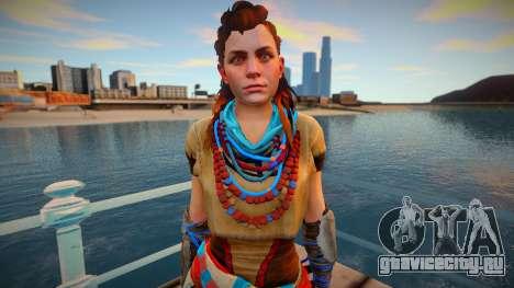 Aloy from Horizon Zero Dawn для GTA San Andreas
