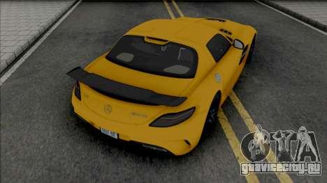 Mercedes-Benz SLS AMG Black Series (SA Lights) для GTA San Andreas