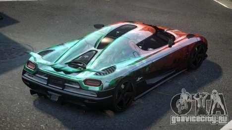 Koenigsegg Agera US S2 для GTA 4