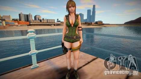 Misaki Army skin для GTA San Andreas