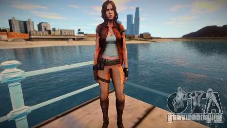 Helena Harper v2 для GTA San Andreas