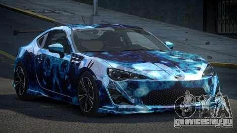 Subaru BRZ SP-U S9 для GTA 4