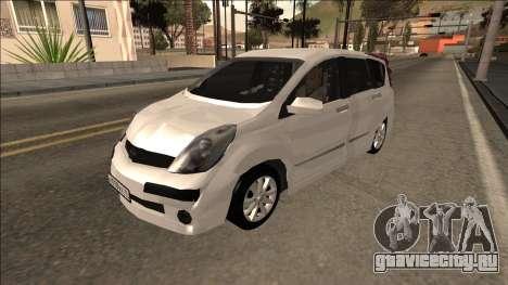2007 Nissan Note для GTA San Andreas