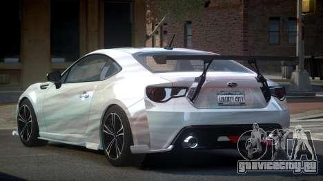 Subaru BRZ SP-U S5 для GTA 4