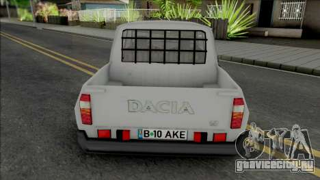 Dacia 1307 Papuc Necarosata для GTA San Andreas