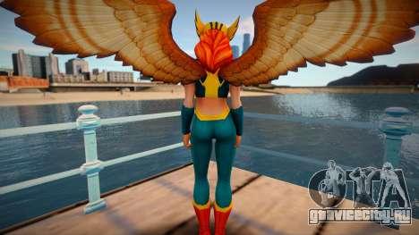 Hawkgirl from DC Legends для GTA San Andreas