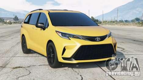 Toyota Sienna XSE 2021〡add-on